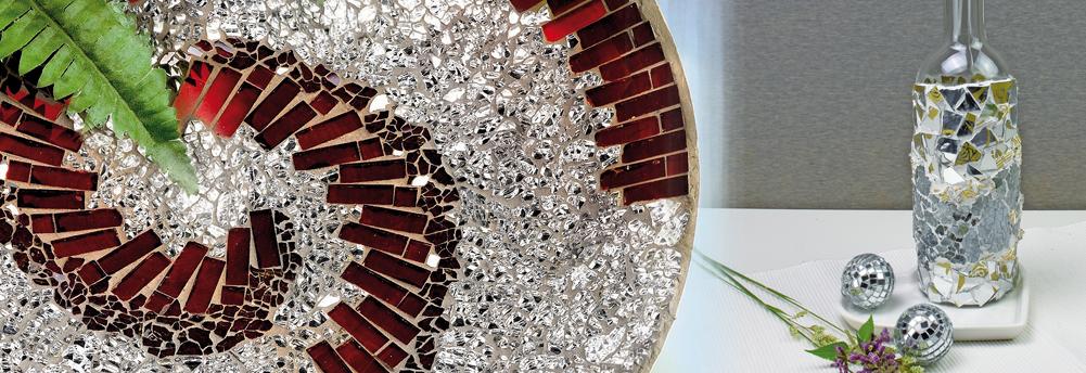 Bastelbedarf mosaiksteine und zubeh r - Mosaiksteine spiegel ...