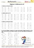 Jahresplanung 2 Klasse mit Lernumgebungen und Lernzielen