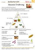 Mahlzeit! - Arbeitsblätter | Ernährung & Haushalt