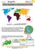 Länder- /Städtekunde - Arbeitsblätter | Geografie