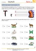 Schreibübungen A - Z - Arbeitsblätter | Deutsch | Buchstaben ABC