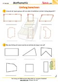 umfang arbeitsbl tter mathematik geometrie. Black Bedroom Furniture Sets. Home Design Ideas
