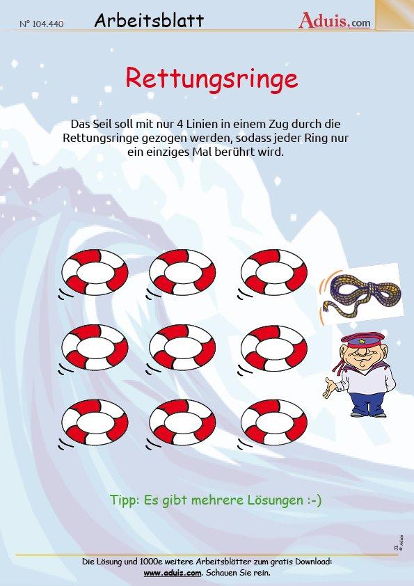 Spiele & Rätsel - Arbeitsblätter | Soziales Lernen