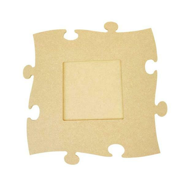 bilderrahmen puzzle gro quadrat papier und karton. Black Bedroom Furniture Sets. Home Design Ideas