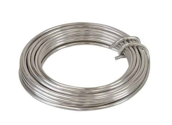 Aludrahtring ca. 5 m - Ø 3 mm, silber online kaufen | Aduis