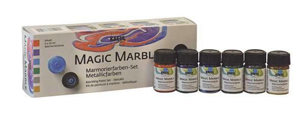marmorierfarbe magic marble 6er set metallic. Black Bedroom Furniture Sets. Home Design Ideas