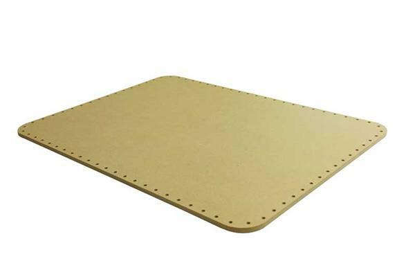 30x20 cm oval MDF-Korbflechtboden