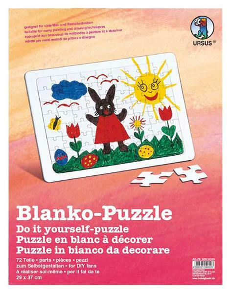 Blanko Puzzle, DIN A4