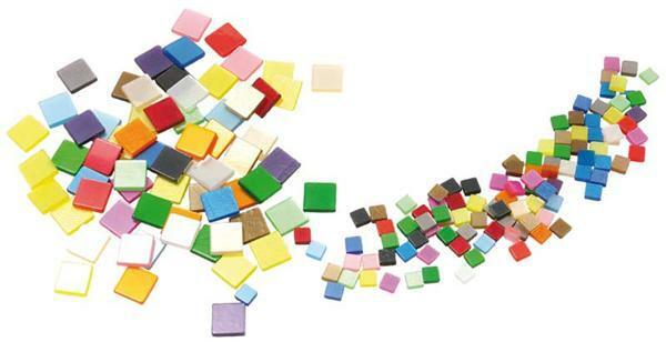 Mosaiksteine set 45 g gl nzend 5 x 5 mm kreatives gestalten mosaiksteine und zubeh r - Mosaiksteine spiegel ...