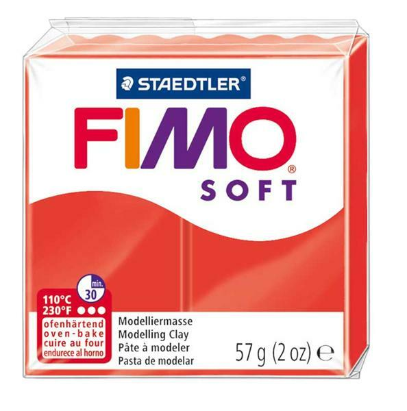 Fimo Soft - 57 g, indischrot
