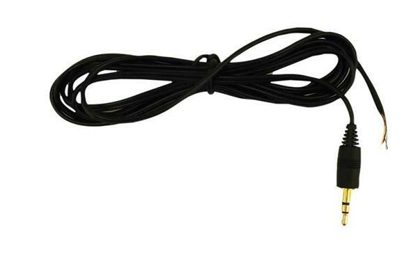 lautsprecherkabel mit stecker 2 5 mm technisches zubeh r elektro bauelemente. Black Bedroom Furniture Sets. Home Design Ideas