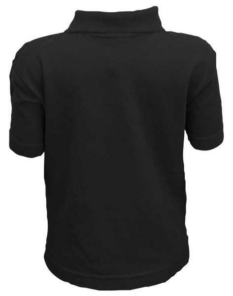 polo shirt kinder schwarz s online kaufen aduis. Black Bedroom Furniture Sets. Home Design Ideas